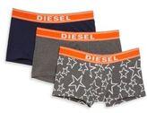 Diesel Three-Pack Stretch Cotton Trunks