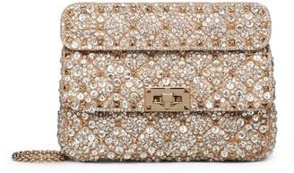 Valentino Garavani Embellished Rockstud Spike Cross-Body Bag