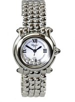 Chopard Women's 27/8250-23 Happy Sport Diamond White Dial Watch