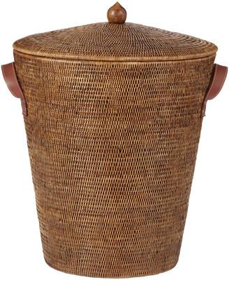 OKA Levant Rattan Laundry Basket - Brown