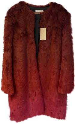 Mary Katrantzou Red Faux fur Coat for Women