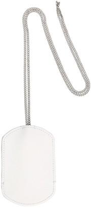 Maison Margiela Leather Key Ring W/ Chain