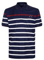 Paul & Shark Contrast Stripe Polo Shirt