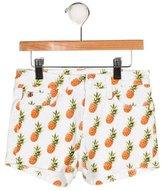 Hudson Girls' Printed Mini Shorts