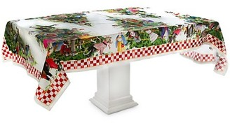 Mackenzie Childs Animal Fete Tablecloth