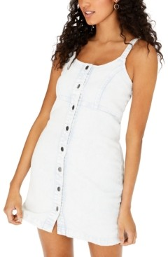 Tinseltown Juniors' Sleeveless Denim Dress