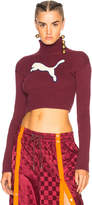 FENTY PUMA by Rihanna Loose Cropped Sweater