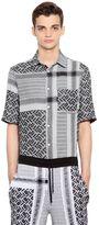 McQ by Alexander McQueen Razorblade Cotton & Linen Shirt