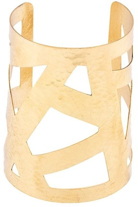 Josie Natori Geometric Cuff Bracelet