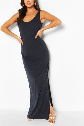 boohoo Scoop Neck Maxi Dress