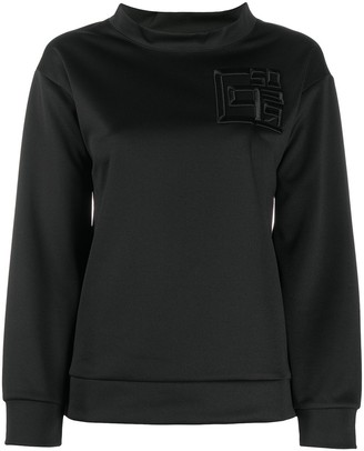 Peserico Mock Neck Sweatshirt