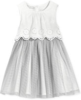 First Impressions Scalloped-Eyelet Dress, Baby Girls (0-24 months), Only at Macy's