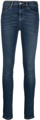 Emporio Armani High-Rise Skinny Jeans