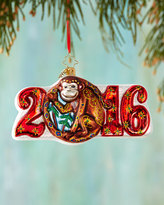 Christopher Radko Year of the Monkey Christmas Ornament