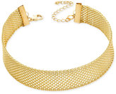 INC International Concepts Mesh Choker Necklace, Created for Macy's