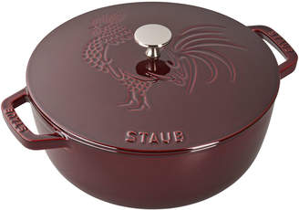 Staub 3.75-Qt. Essential French Oven Rooster with Lid, Grenadine