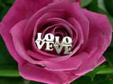 Pippa knowles jewellery Silver 'Love' Earrings
