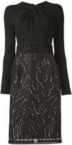 Talbot Runhof Nolena dress - women - Acrylic/Polyester/Spandex/Elastane/Virgin Wool - 34