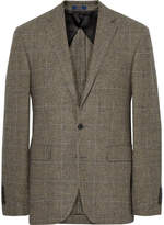 Polo Ralph Lauren Polo 1 Slim-Fit Prince of Wales Checked Wool Blazer