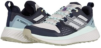 adidas Outdoor Terrex Folgian Hiker (Legend Ink/LGH Solid Grey/Dash Green) Women's Shoes