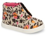 Toms Infant Girl's Paseo High Top Sneaker