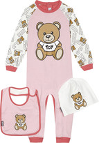 Moschino Teddy bear onesie set 0 -12 months