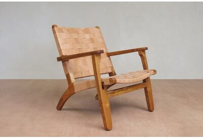 """Thumbnail for your product : Masaya & Co 28"""" Wide Armchair"""