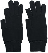 Rick Owens knitted wool gloves