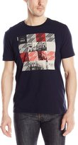 Ben Sherman Men's London Squares Graphic T-Shirt