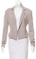 Robert Rodriguez Striped Knit Blazer