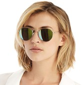 Sole Society Reece mirrored metal sunglasses