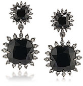 Carolee Gotham Double-Drop Clip-On Statement Earrings