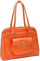 McKlein Avon Leather Laptop Briefcase