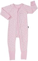 Bonds Baby Newbies Ribby Dancing Daisies Wondersuit, Coral Pink