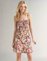 Smocked Summer Floral Dress