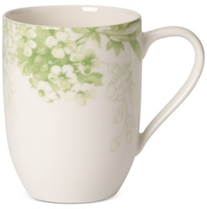 Villeroy & Boch Dinnerware Floreana Green Collection Porcelain Mug