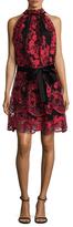 Alexia Admor Floral Keyhole Dress