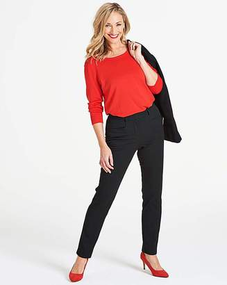 Capsule Black Kate Slim Leg Trousers