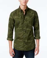 Tommy Hilfiger Men's Big & Tall Rushmore Tailored-Fit Camo Shirt