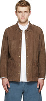 Visvim Brown Nubuck Sundance Jacket
