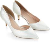 Monsoon Thalia Kitten Heel Point Court Shoe