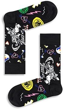 Happy Socks Linda & Johnny Guitar Socks
