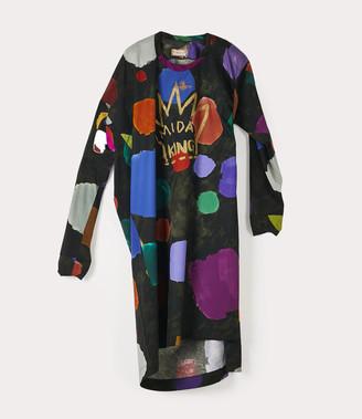 Vivienne Westwood Squiggle Dress Coloured Dots