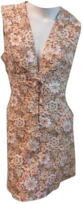 Zimmermann Gold Linen Dresses