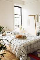 Urban Outfitters Wonky Grid Duvet Cover