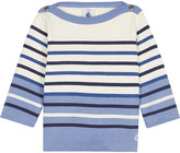 Petit Bateau Sailor striped heavy cotton top 3-36 months