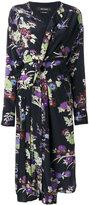 Isabel Marant Iam asymmetric midi dress - women - Silk - 38