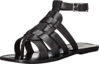 Sigerson Morrison Women's Ankle Strap Fisherman Flat Sandal