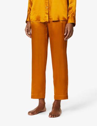 ASCENO Olbia silk pyjama bottoms