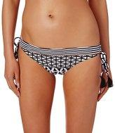 Seafolly Modern Geometry Loop Tie Side Hipster Bikini Bottom